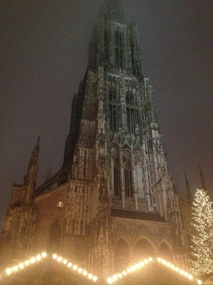 Ulmer Munster, the tallest church in the world. In Ulm, Germany where I lived for 6 months.